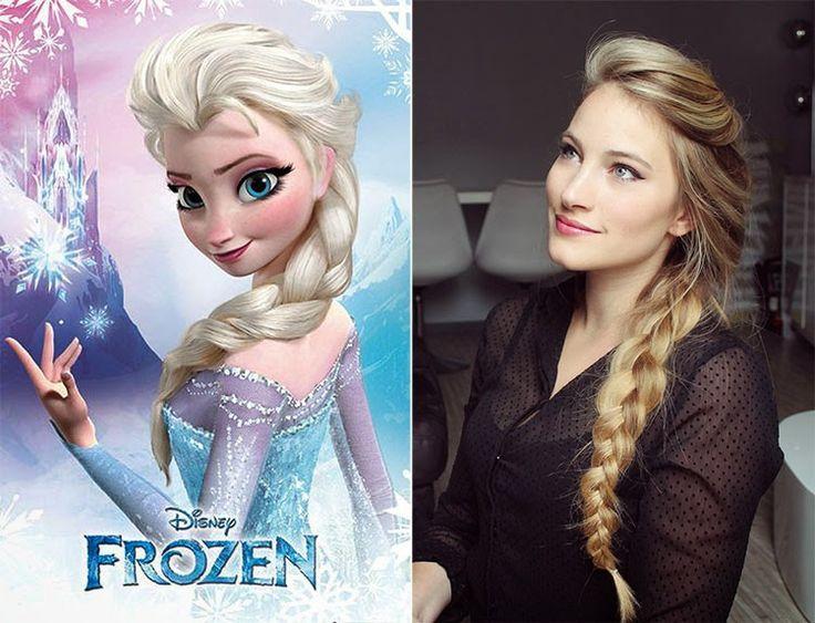 ♥ Façon Elsa, La Reine des Neiges ♥