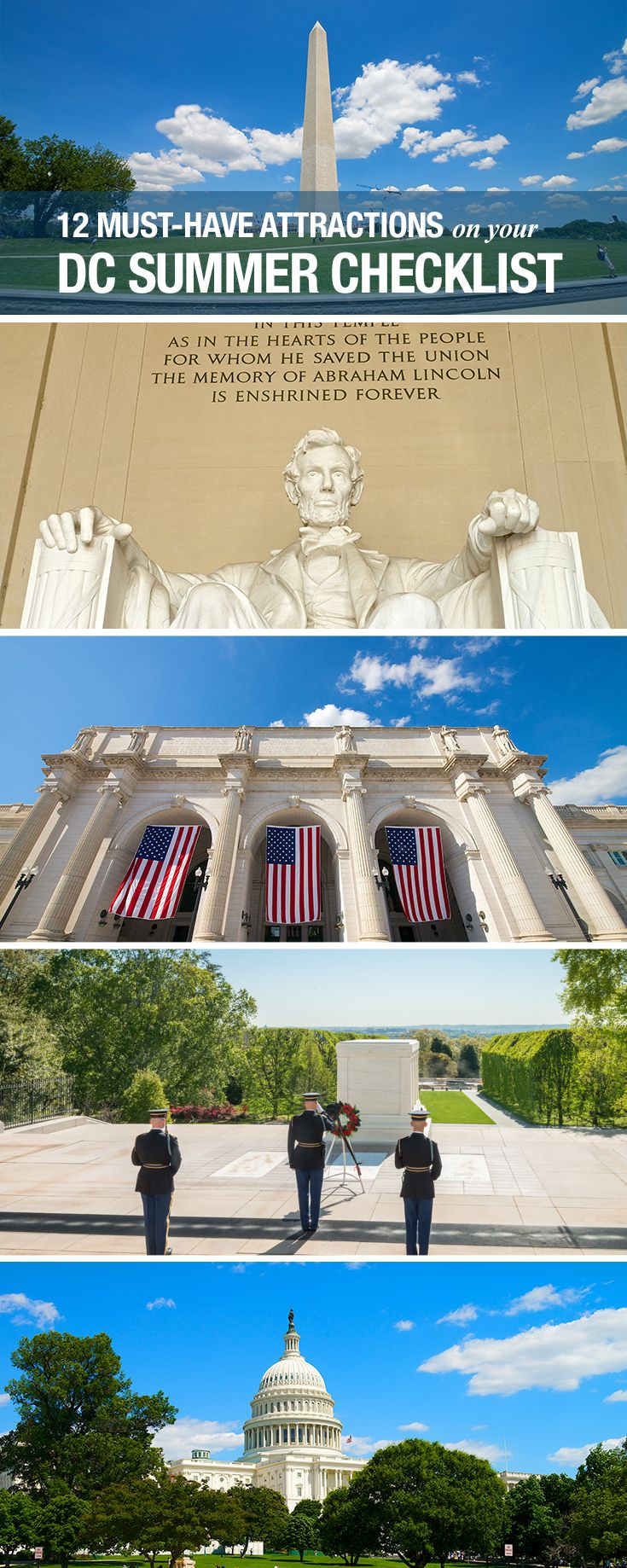 Washington Dc Map Of Attractions%0A Things to do in Washington DC in the summer  Here are a few of our favorite  touristy spots you have to visit next time you u    re in DC
