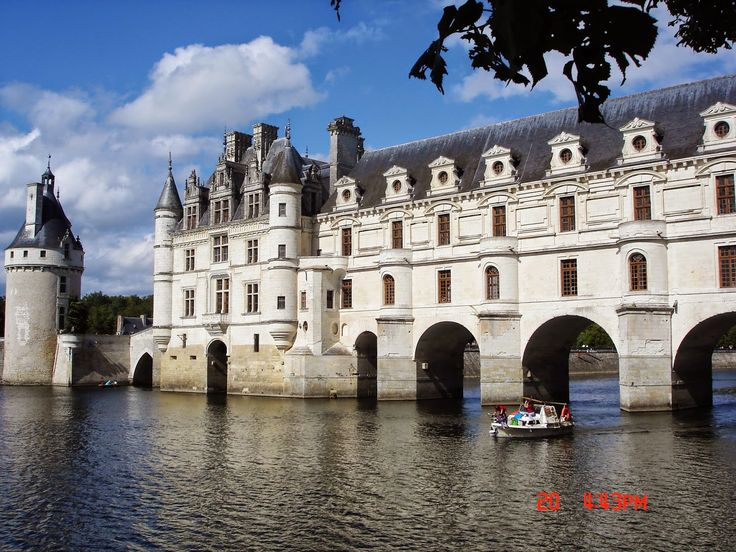 Cele mai frumoase locuri din Europa: Castelul Chenonceau