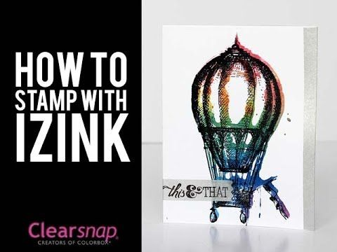 Stamping with Izink - with Jennifer Priest