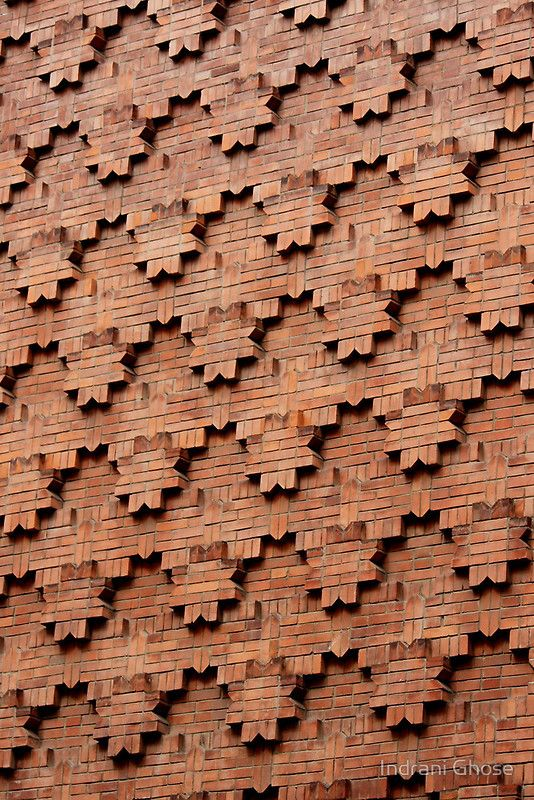 brick patterns on wall turin italy - Brick Design Wall