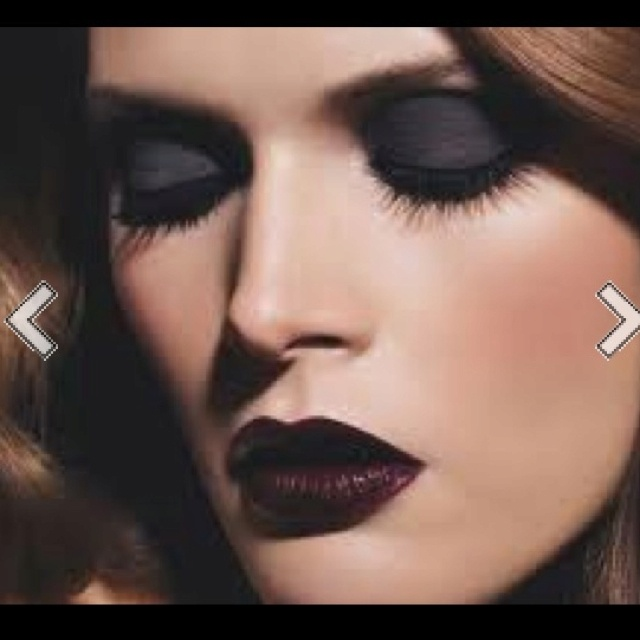 Black make up is IN