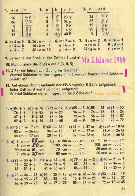 DDR Schule und Kindererziehung
