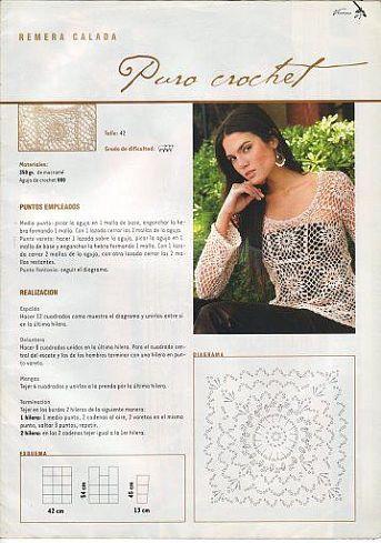 Pulloverid - Roheline - Picasa Web Albums: Hook, Crochet Chart, Crochet Blouses, Web Site, Vetement Crochet, Pretta Crochet, Crochet Tops, Topid Motiividest, Crochet Pretty