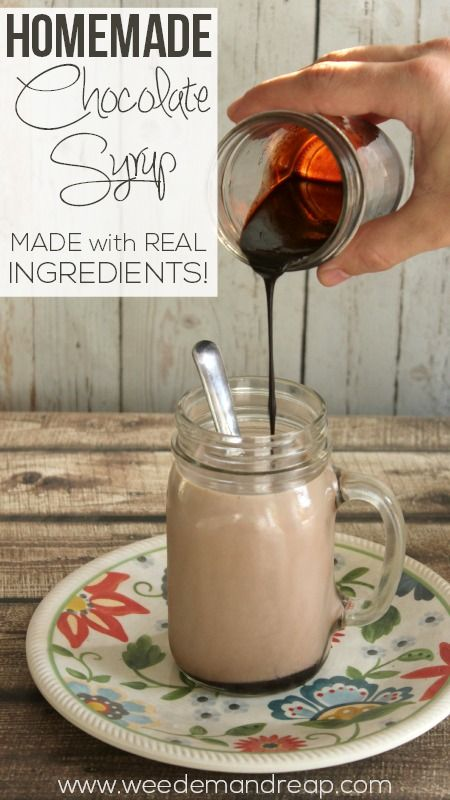 Recipe   Homemade Chocolate Syrup - Weed'em & Reap #realfood #processedfree #healthy