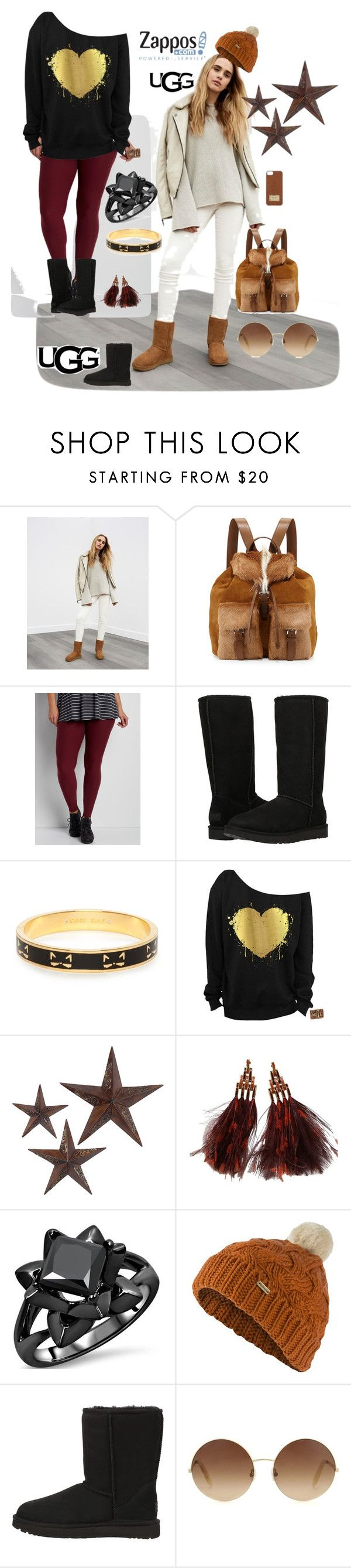 """The Icon Perfected: UGG Classic II Contest Entry"" by osiris-rojas ❤ liked on Polyvore featuring UGG, Prada, maurices, UGG Australia, Kate Spade, jcp, Louis Vuitton, Barbour, Victoria Beckham and Michael Kors"