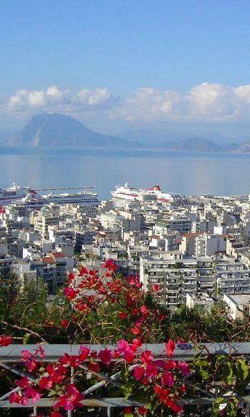 Patra City, Peloponnese, Greece