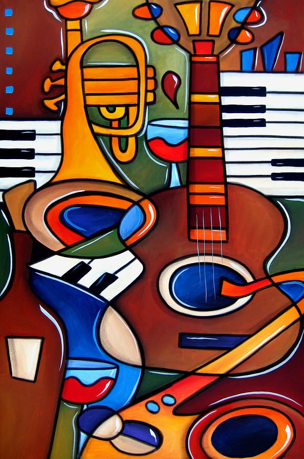 121 best Musical Instrument Art images on Pinterest ...