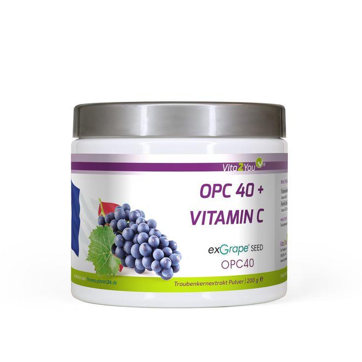 Jetzt ganz neu von Vita2You, OPC Pulver mit Vitamin C. #opc #traubenkernextrakt #vita2you #vitaminc #vitamine #health #supps #gesundheit #supplement #vitaminp