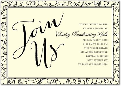 Fabulously Forty Adult Birthday Party Invitations in Marigold or – Business Party Invitation Wording