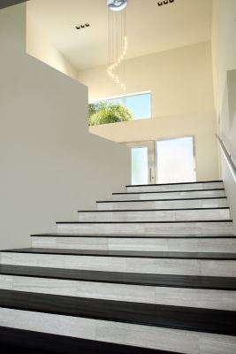 Haisa Light #Marble #Stair Treads By #SoliArchitecturalSurfaces #luxeLA |  See MORE At