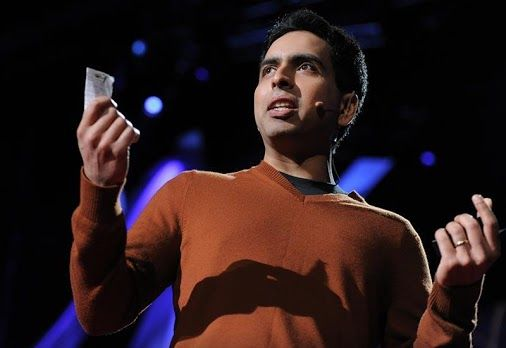 """Salman Khan talks about how and why he created the remarkable Khan Academy, a carefully structured series of educational videos offering complete curricula in math and, now, other subjects. He shows the power of interactive exercises, and calls for teachers to consider flipping the traditional classroom script — give students video lectures to watch at home, and do """"homework"""" in the classroom with the teacher available to help…"""