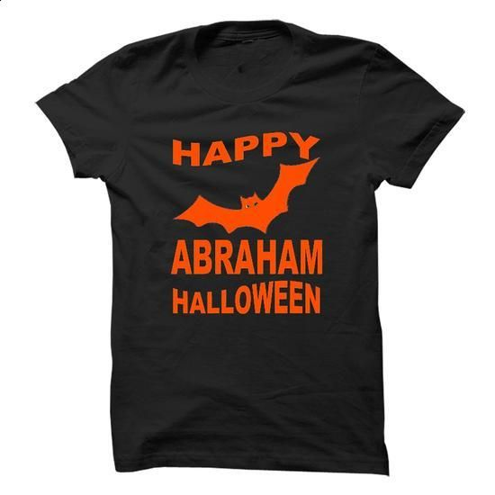 ABRAHAM HALLOWEEN - #white shirt #wool sweater. SIMILAR ITEMS => https://www.sunfrog.com/Names/ABRAHAM-HALLOWEEN.html?68278