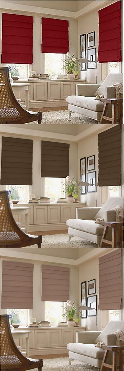 Blinds and Shades 20585: *Savannah Roman Shade Blind Light Filtering Fabric Fold Window Treatment New -> BUY IT NOW ONLY: $39.5 on eBay!