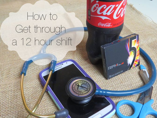 Nurses work the dreaded 12 hour shifts. These are my top tips for getting through your first few 12 hour shifts right out of school.