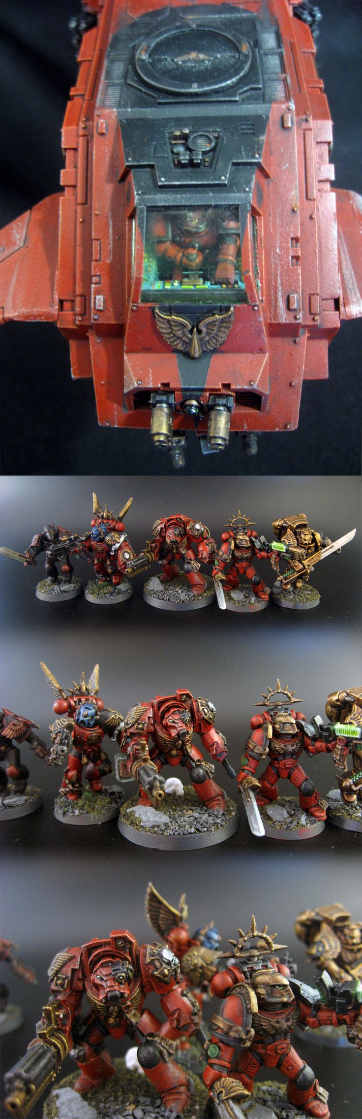 Blood Angels Army Project (pic carpet bombing) - Page 37