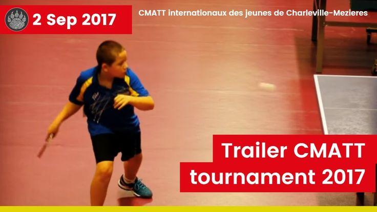 Trailer Tournament at 'Charleville-Mézières - cmatt' - Michiel Nijst Table Tennis Player    #ittf #vttl #tafeltennis #tennisdetable #tischtennis #乒乓球 #tennisdemesa #pingpong #bordtennis #sport