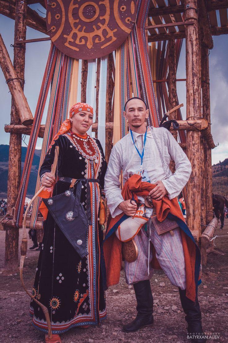 Башкиры Башкирский национальный костюм Всемирные игры кочевников