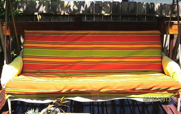 Best 25+ Outdoor Swing Cushions Ideas On Pinterest