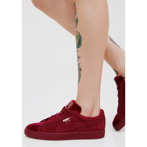 PUMA Suede Classic Velvet Sneakers ($75