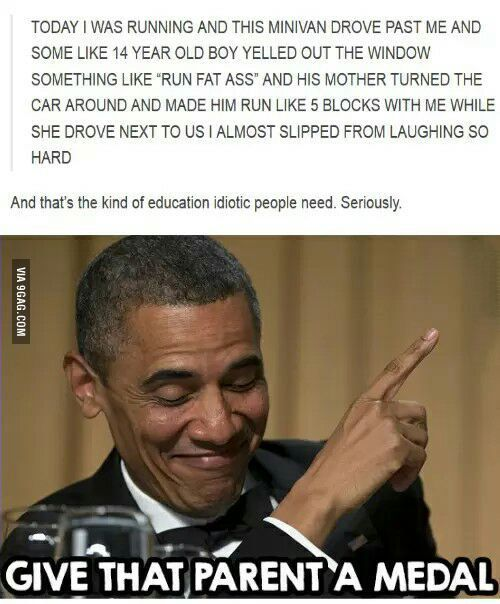 Parenting done right. - 9GAG