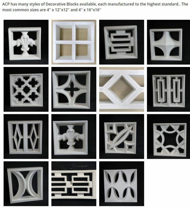 Image Result For Mid Century Concrete Blocks For Sale Decorative