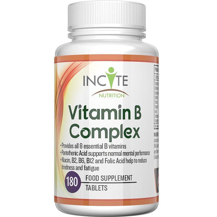La vitamina de complejo B de alta resistencia - 180 Tabletas Pequeñas de 6mm, garantía 100%, (6 meses de suministro), fabricada en el Reino Unido. Contiene las 8 vitaminas B Con B1 B2 B3 B4 B5 B6 B7 Biotina B9 Ácido fólico y B12 Methylcobalamin - Apta para hombres y mujeres, Un solo suplemento por día de todas las vitaminas B - Este suplemento de complejo B tomado todos los días incrementará la energía y ayuda a la tiroides.