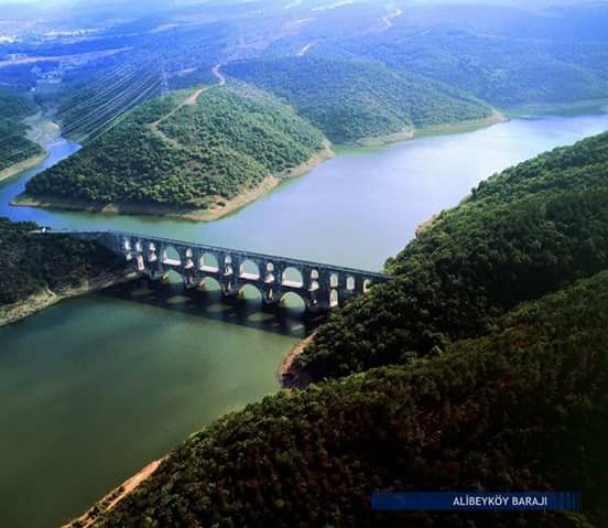 Alibeyköy Barajı, İstanbul, Turkiye