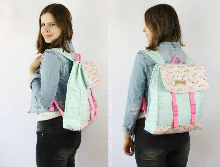 Mein Sommer-Rucksack • Tutorial & Schnitt   Seemannsgarn • handmade