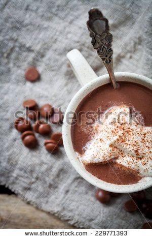 Hot Drinking Chocolate Rustic Stock Photos, Images, & Pictures | Shutterstock