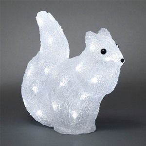Konstsmide 6180-203 LED Acrylic Christmas Squirrel