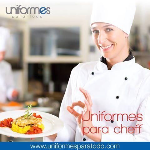 ¡Resalta tu imagen adentro y afuera de la cocina! #UniformesParaTodo #Cocina #Cheff #Kitchen #Imagen #Marca #Estilo