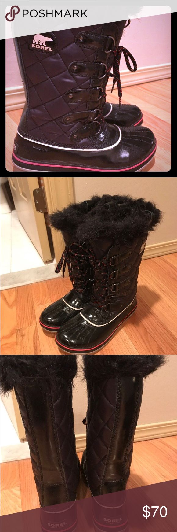 Sorel Boots Sorel snow boots in great condition, only worn once!! Sorel Shoes Winter & Rain Boots