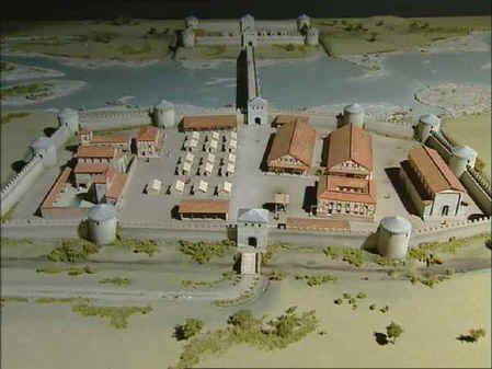 Roman Castrum - Maastricht (Holland)