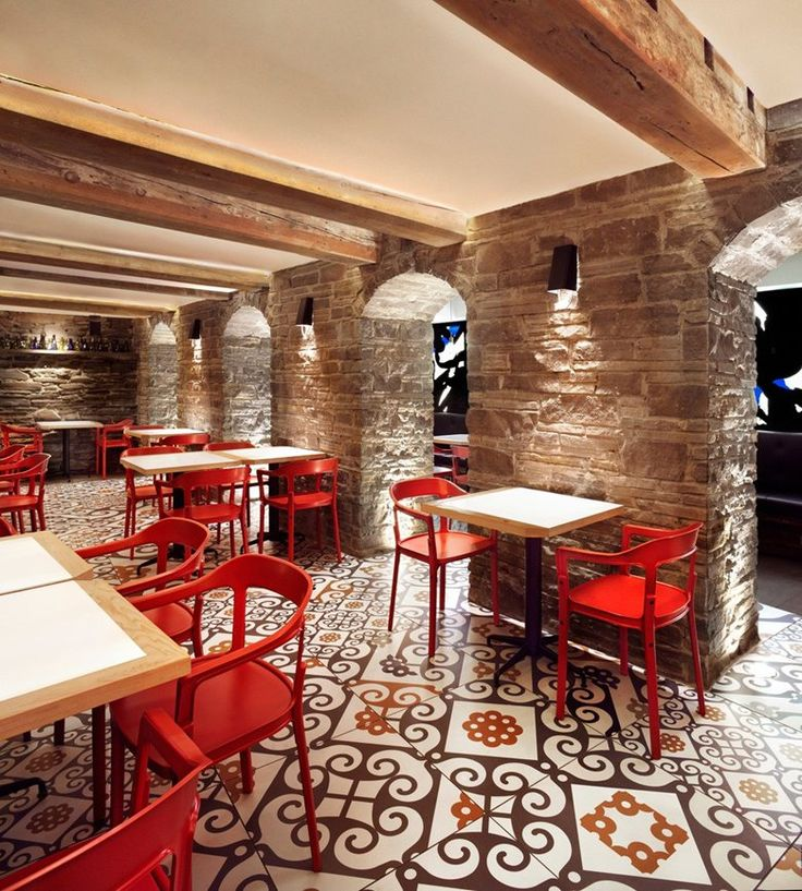 spanish inspired tapas restaurant barsa taberna captures the energy of the running of the bulls multi disciplinary studio tongtong recently completed barsa - Multi Restaurant Design