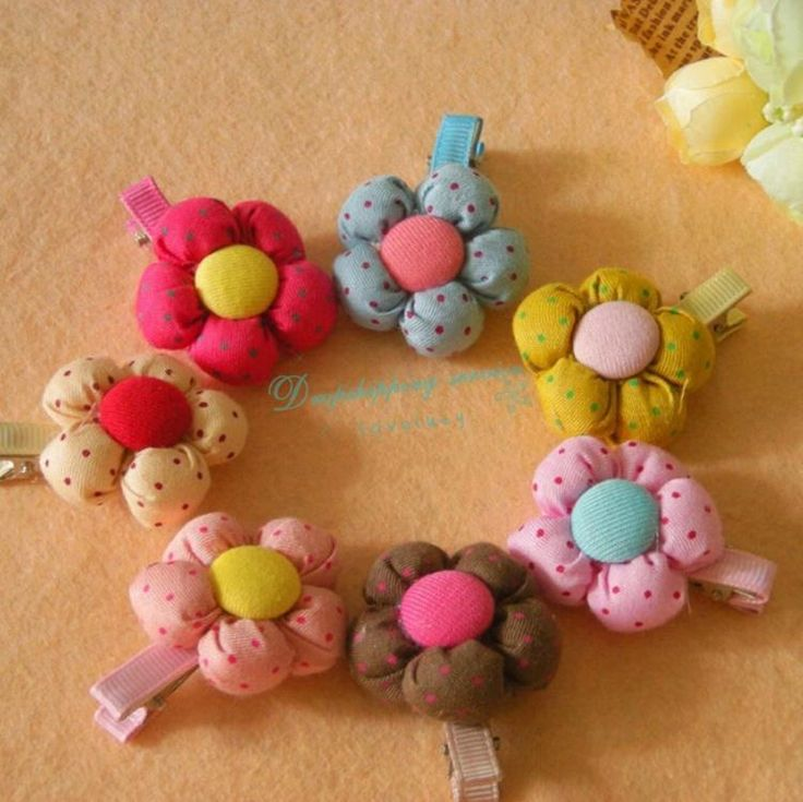Cat Hairpin Lovely Head Flower Headdress Flower Buds Spring Hair Clips Pet Supplies Dog
