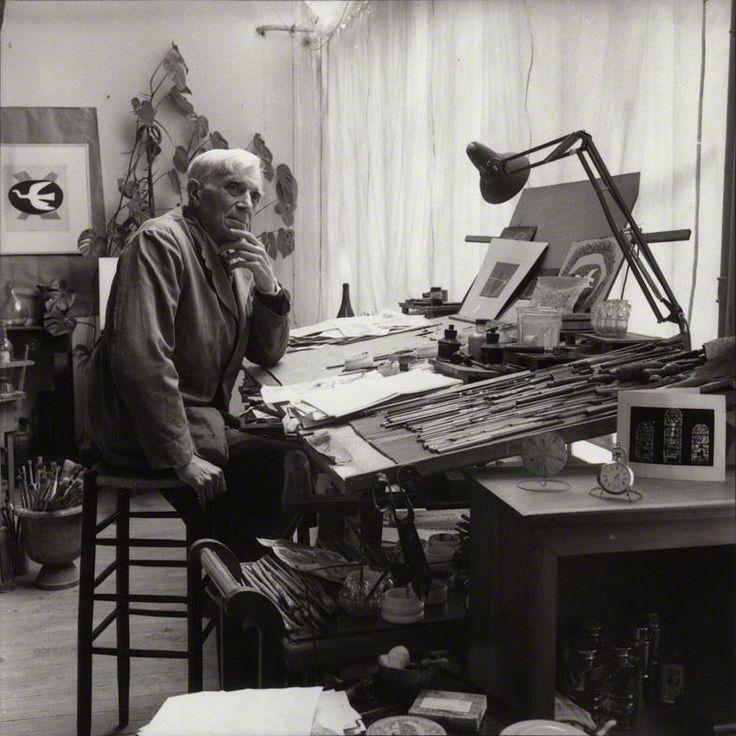 Georges braque 1882 1963 10 handpicked ideas to for Studio 54 oviedo