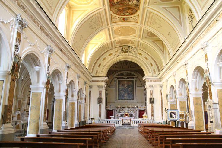 Interno della Chiesa di Sant' Antonio #Eboli