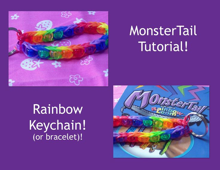 monster tail rainbow loom instructions