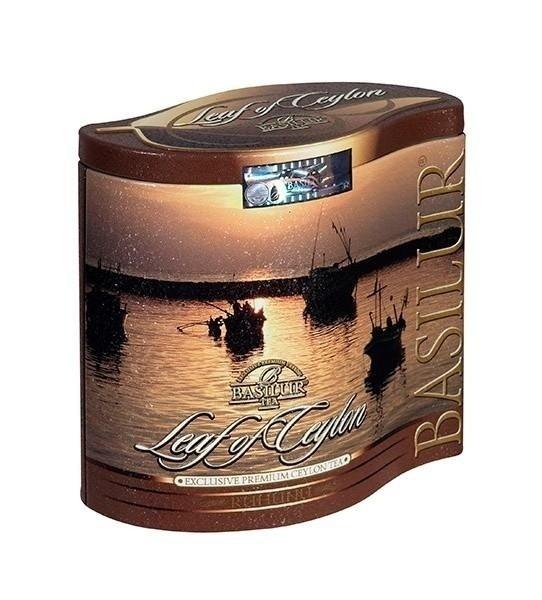 Flot te dåse fra Leaf Collection. Dåsen er i flot design. I Canada er dåserne fra Basilur Tea store samle objekter. Og så er teen rigtig lækker.