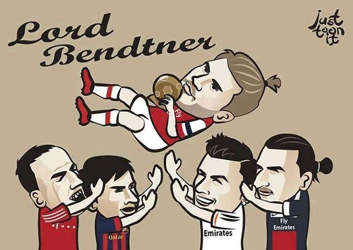 Just toonit Lord Bendtner