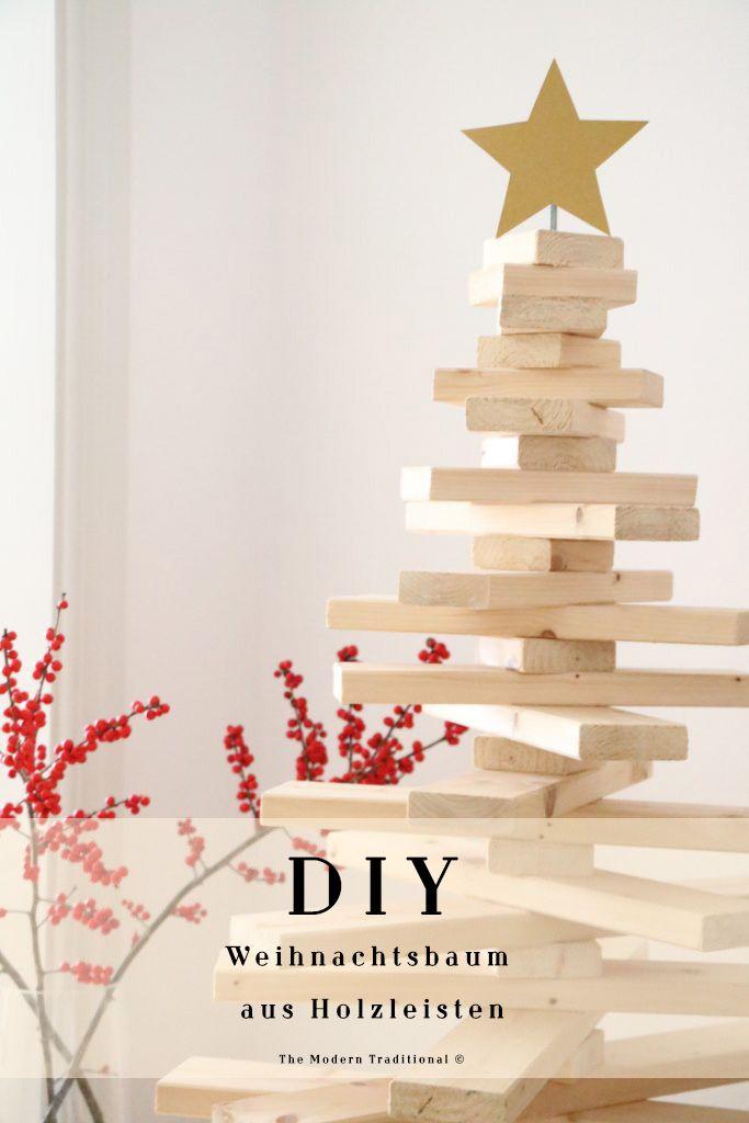 diy weihnachtsbaum aus holz diy christmas tree diy christmas christmas diy kreative. Black Bedroom Furniture Sets. Home Design Ideas