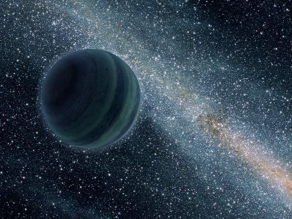 """""""Nomad"""" Planets More Common Than Thought, May Orbit Black Holes - Between 3 and 6 percent of stars host rogue planets"""