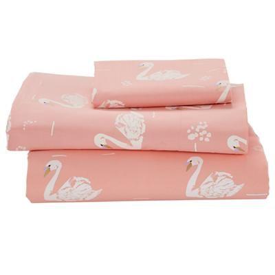 Swan Soiree Toddler Sheet Set