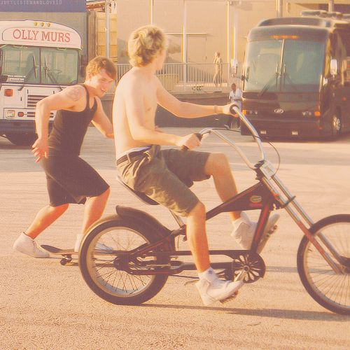 Josh and Niall being silly...it's too much..