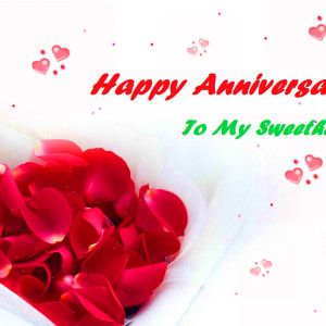 Happy Wedding Anniversary Greeting and wishes Romentic Wallpaper!!