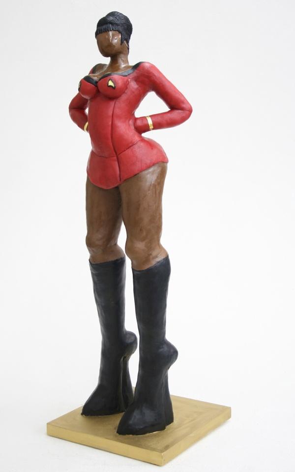Lieutenant Uhura  Chocolate  Karin van de Walle