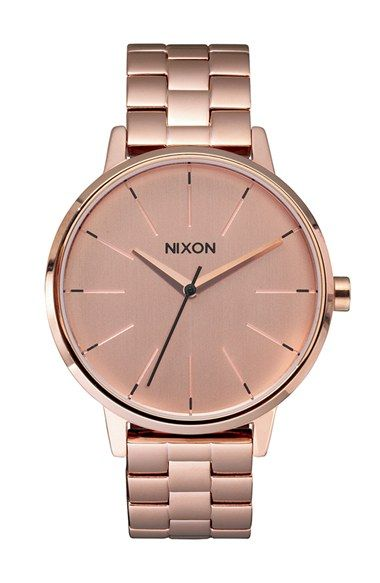 Nixon 'The Kensington' Round Bracelet Watch, 37mm available at #Nordstrom
