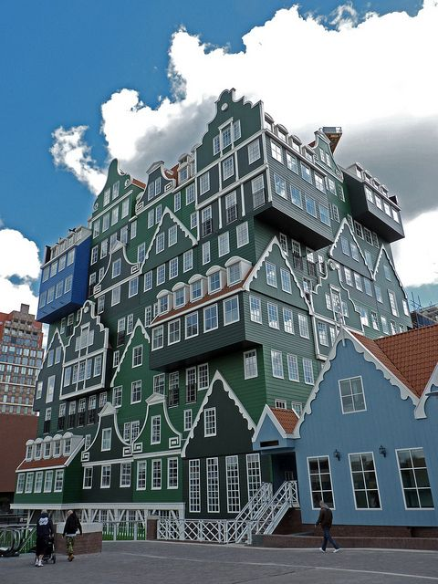 """Zaandam by jolle via flickr """"Fusion-architectuur"""" noemt architect Wilfried van Winden"""