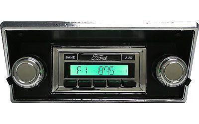1968-1972 Ford Pick Up Truck Radio, USA-230 Custom Autosound 68-72 IPOD AUX XM